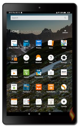 Kindle Fire 5th Generation: Kindle Fire HD 10 Inch Tablet