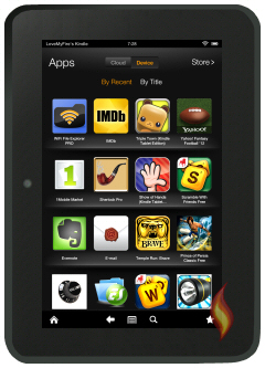 Kindle Fire Apps: Kindle Fire App Library