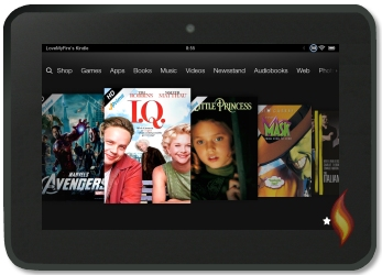 Amazon Prime Instant Videos on my Kindle Fire HD