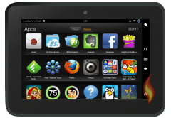 Kindle Fire Apps: Apps on Device listed by Title