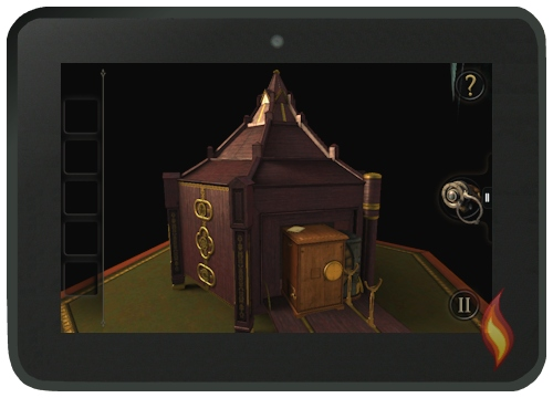 The Room Game on my Kindle Fire