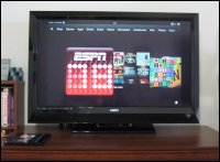 Kindle Fire Carousel on TV
