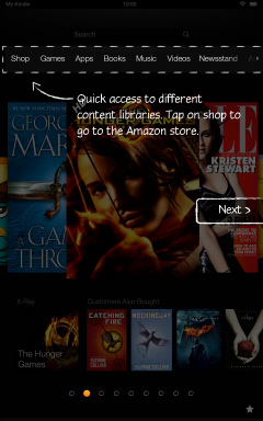 Kindle Fire HD Getting Started Tutorial Page 2