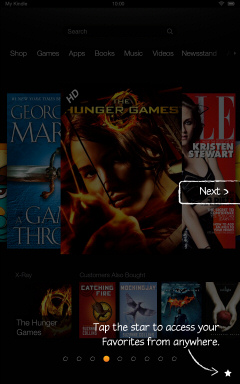 Kindle Fire HD Getting Started Tutorial Page 4