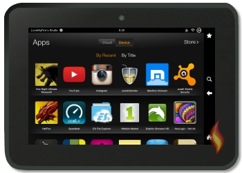 Google Play Store Apps on my Kindle Fire HD