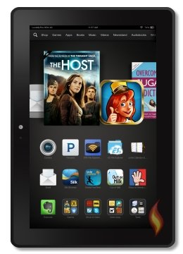 My Kindle Fire HDX Portrait Carousel Host Movie