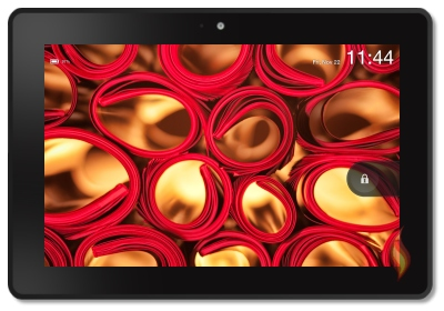 Kindle Fire HDX Background Image of Rolled Magazines