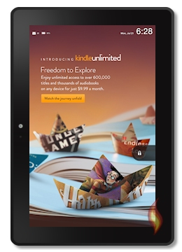 My Tablet with Kindle Unlimited Ad