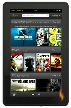 Kindle Fire Video Store