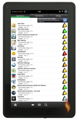 Kindle Fire App Permissions