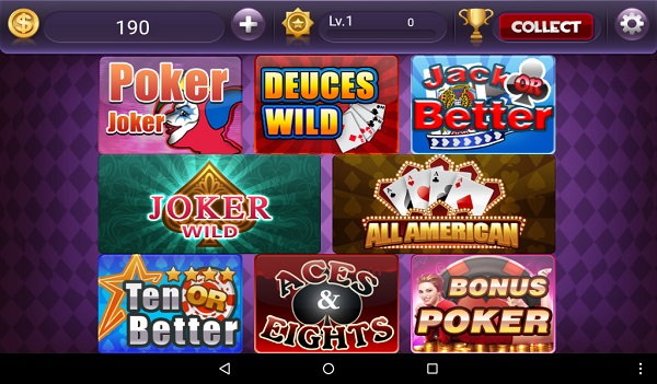 Poker Games For Kindle Fire: Video Poker Casino