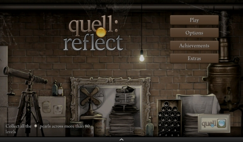 Quell Reflect Start Screen